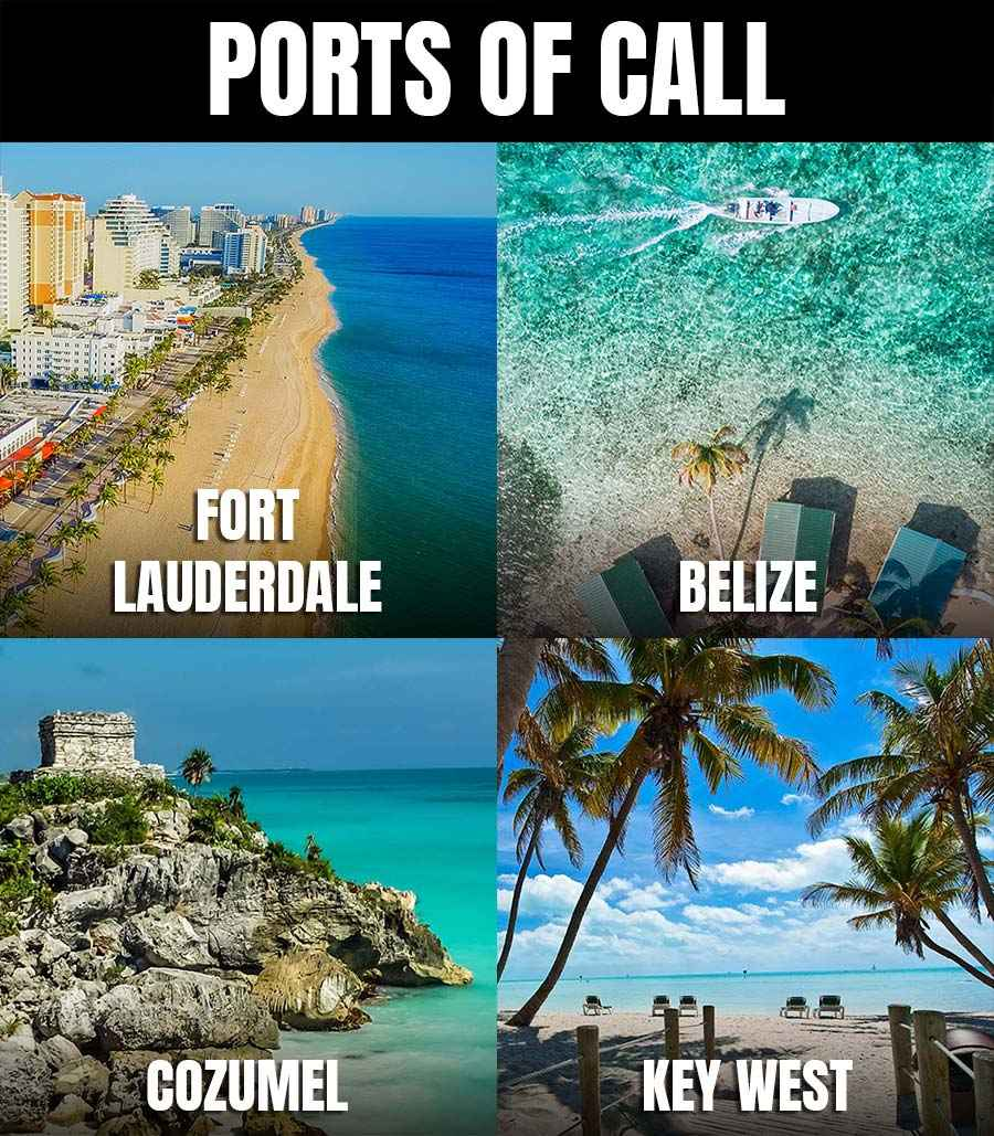 Country Cruising Ports of Call